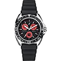 Nautica Watches Mens Sport Ring Multifunction Watch