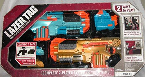 Hasbro LAZERTAG Multiplayer Battle System]()