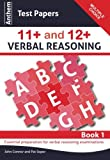 Anthem Test Papers in 11+ and 12+ Verbal Reasoning Book 1, John F. Connor and Pat Soper, 0857283839