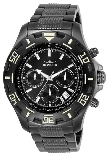 Invicta Men's 6412 Python Collection Stainless Steel Watch with Link Bracelet (Tachymeter Collection Watch)