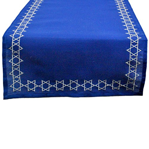 DII Embroidered Table Runner, 14
