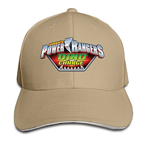 Power Rangers Dino Charge Unisex 100% Cotton Adjustable Baseball Caps Natural One Size