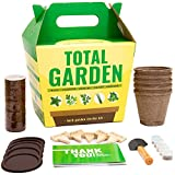 Sproutbrite Indoor Herb Garden Starter Kit - Grow 5 Heirloom Herbs from Organic Non GMO Seeds - A Complete Gardening Gift kit for Growing from Seed
