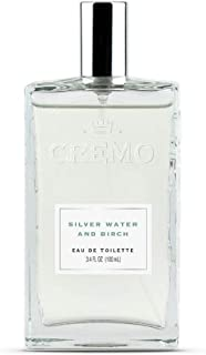 product image for Cremo Silver Water & Birch Cologne Spray, A Crisp Scent with Notes of Forest Moss, Lavender and White Birch, 3.4 Oz