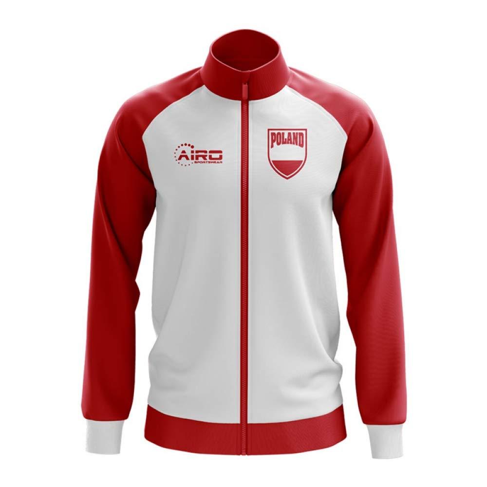 Airo Sportswear Poland Concept Football Track Jacket (Weiß) - Kids