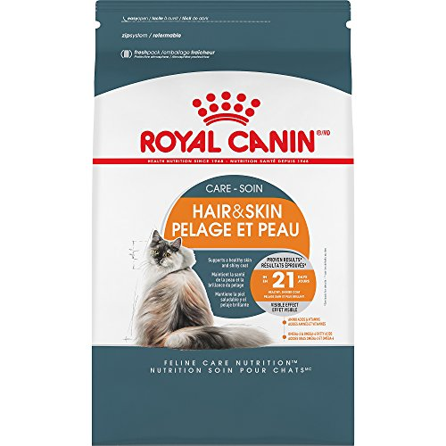 Royal Canin Feline Care Nutrition Hair & Skin Care Adult Dry Cat Food, 3.5 lb