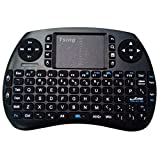 LESHP a48 21S Mini 2.4 G Wireless Multifunctional Computer Table PC Hand Held Portable Keyboard English for Pad, Black