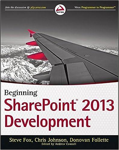 Beginning sharepoint 2013 development steve fox chris johnson beginning sharepoint 2013 development 1st edition fandeluxe Gallery