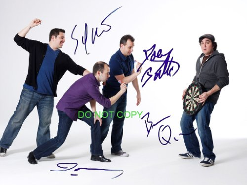 Impractical Jokers cast reprint signed autographed photo #3 Sal, Murr, Joe, Q TruTv]()