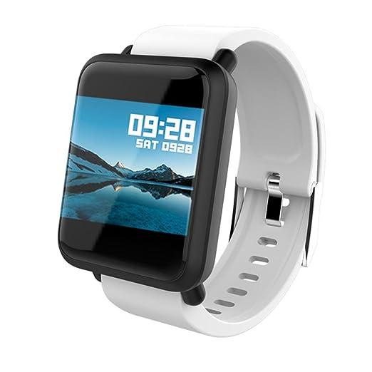 ... GPS Fitness Tracker Reloj Deportes Inteligentes Podómetro Sueño Notificación de SMS Pulsera Actividad Inteligente para Android 4.4: Amazon.es: Relojes