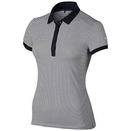 Nike Women's Victory Stripe Dri-Fit - Shirt Nike Polo Basketball