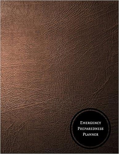 Emergency Preparedness Planner Disaster Preparedness Checklist