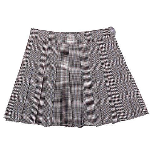 2 Haute Taille Gris E Femme girl Ajourée Mini Jupe Da1230 80kPOnw