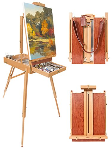 Easel w/Leather Carry Strap ()