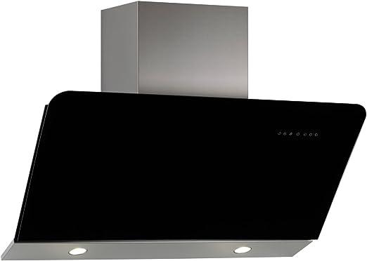 Nodor Dali - Campana (Canalizado, 790 m³/h, 49 Db, Montado en pared, LED, Negro): Amazon.es: Hogar