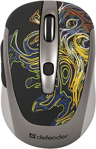 Defender Wireless Opt Mouse To-GO MS-575 Cyclone 6Buttons 1000-1600 dpi