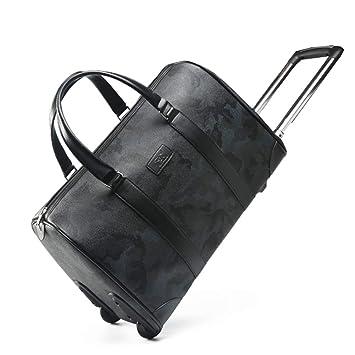 Amazon.com: ZHANGQIANG Maleta de viaje con ruedas, bolsa de ...