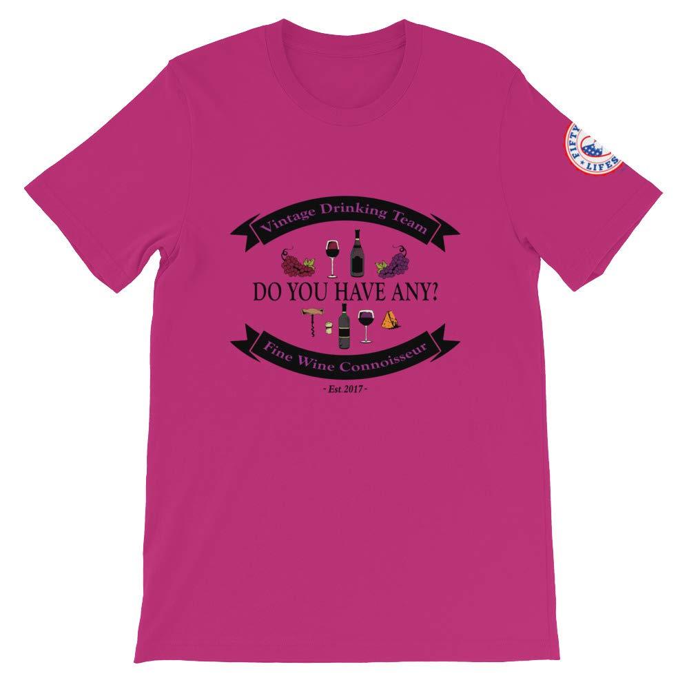 Fifty Plus Lifestyle Inc Fine Wine Connoisseur T-Shirt