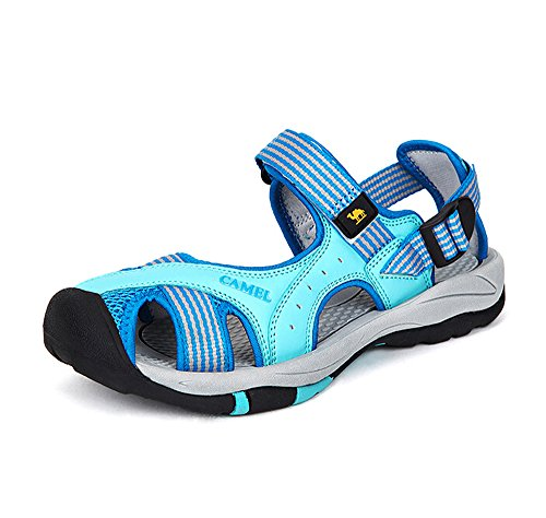 Kamel Utomhus Kvinnor Elegant Athletic Sandaler Färg Blå Storlek 36 M Eu