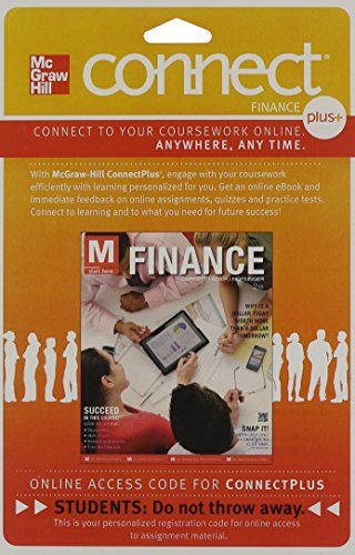Connect 1-Semester Access Card to accompany M: Finance