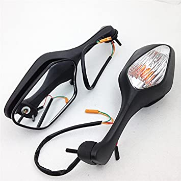 Mirrors Turn Signals Light Black 2008 2009 2010 2011 2012 2013 HONDA CBR 1000 RR