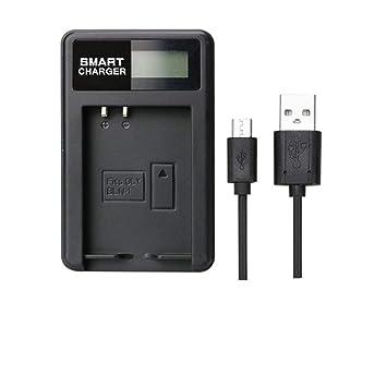 Cargador de batería BLN-1 BLN1 LCD Cargador Individual para Olympus E-M5 cámara OM-D E-M1 E-P5