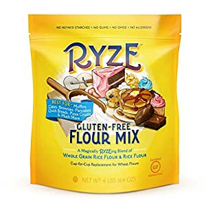 Amazon.com : RYZE Gluten Free Flour Yellow Bag, Rice Flour