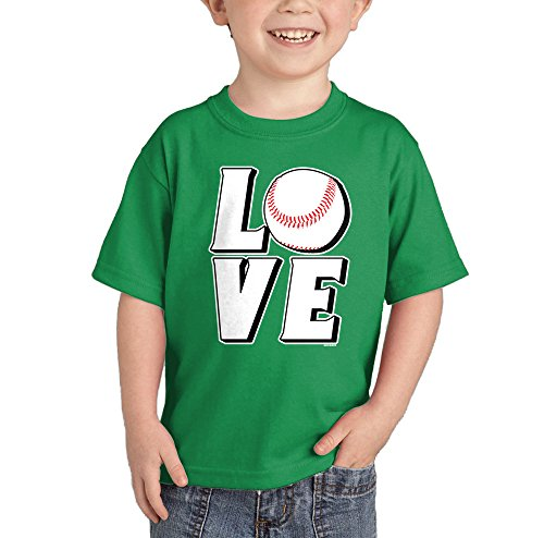 Toddler Infant Love Baseball T shirt