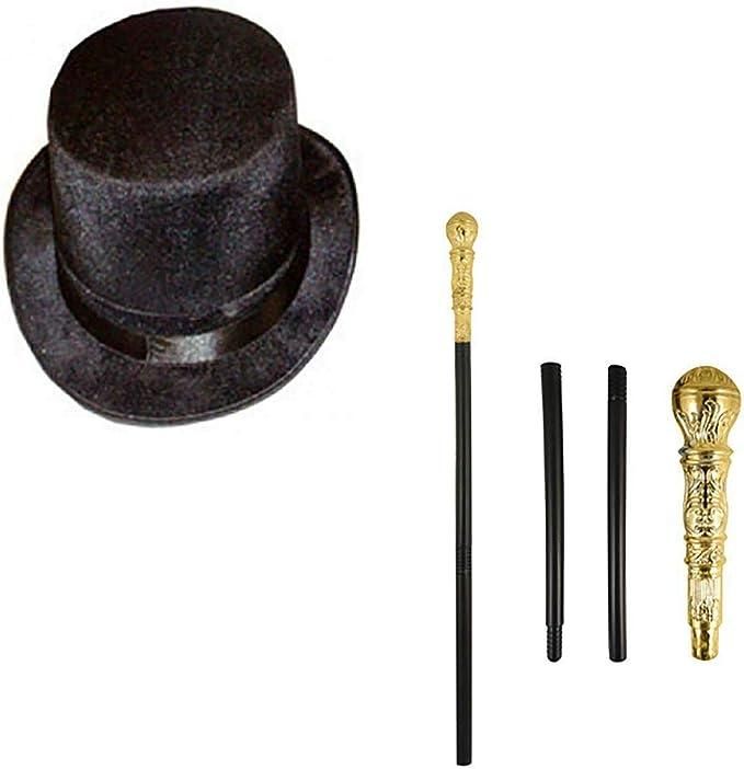 Style Wise Fashion Set de accesorios para disfraz de mago para ...