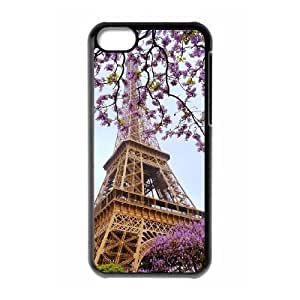 LJF phone case Flower Paris Brand New Cover Case for iphone 5/5s,diy case cover ygtg618431