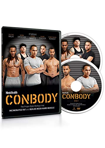 - Men's Health CONBODY: The Prison Style Workout That Incinerates Fat and Builds Rock Hard Muscle (2 DVDs)