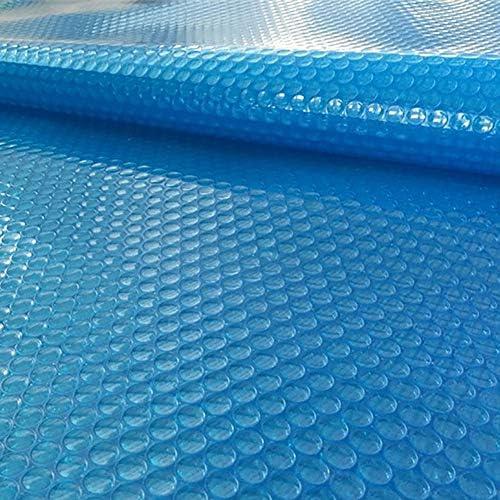 プールカバー 青いプールカバー、ソーラー保温カバー、防塵 ソーラーブランケット ために 多くのタイプのプール、テーピングエッジ (Size : 3×6m(10ft×19ft))