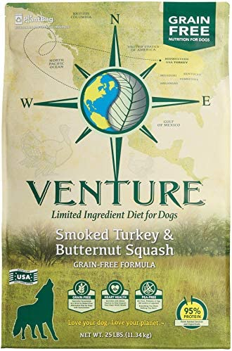 Venture Smoked Turkey Butternut Squash Limited Ingredient Grain Free Dry Dog Food