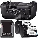 Sony Vertical Battery Grip Alpha A99 DSLR Camera + NP-FM500H Battery + 32GB SDHC Card Saver Bundle