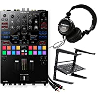 Pioneer DJMS9 Professional DJ Mixer. W/ Tascam DJ HP TH02 + Laptop stand and 2 RCA Cables.