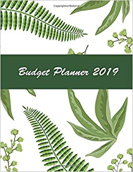 budget planner 2019 12 month and organizer with holiday monthly