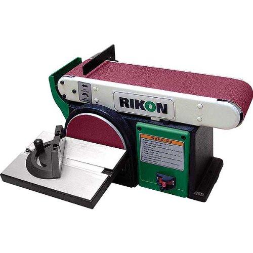 rikon belt sander. rikon 50-110 belt and disc sander, 4-inch by 36-inch - power combination sanders amazon.com sander k