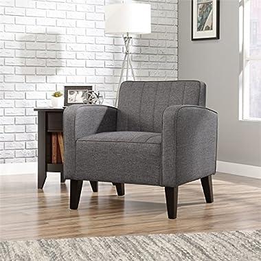 Sauder 416921 Ellis Accent Chair, Dark Gray, Medium