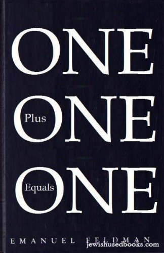 One Plus One Equals One: An Old Fashioned Guide for the Modern Jewish Husband (One Plus One Plus One Equals One)