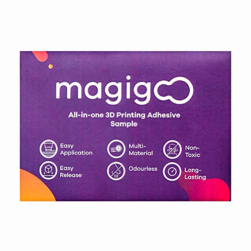 Magigoo MO2016s an All-in-One 3D Printing Adhesive Sample, ABS, 0.13 fl.oz. Colorless