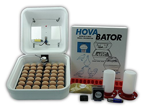 HovaBator Premier Egg Incubator Combo (Forced Air Incubator)