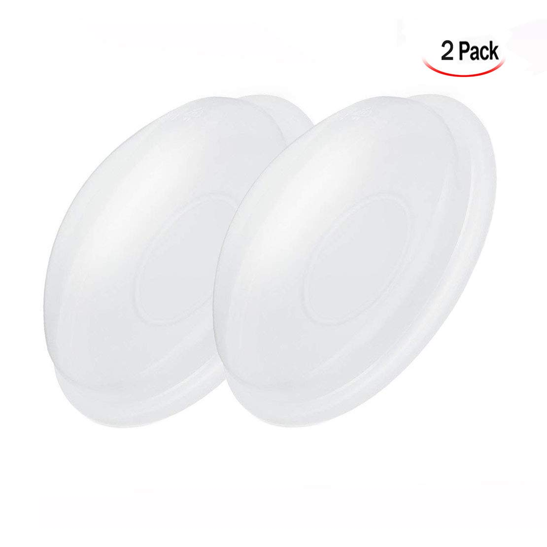 Reusable Breast Shells Nursing Cups for Nursing Moms Xrten 2Pcs Soft and Comfortable Silicone Breast Milk Saver