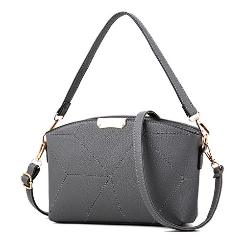 Dunland Simple Shoulder Hand Lady Purse Gray pattern BAG Womens Handbag Bag Messenger Tote Hobo Stone qrZrwxIF