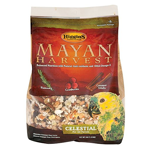 Higgins 466213 Mayan Harvest Celestial For All Parrots - 3 Pound by Higgins