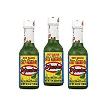 El Yucateco Green Chile Habanero Hot Sauce, 4 oz (Pack of 3)