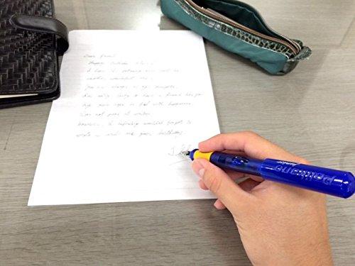 Pelikan Pelikano Jr. Fountain Pen, Right-Handed, Medium Nib, Blue, 1 Pen, 940874