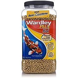 Wardley Plus Koi Color Enhancing Pond Fish Food Pellets - 2.8lb