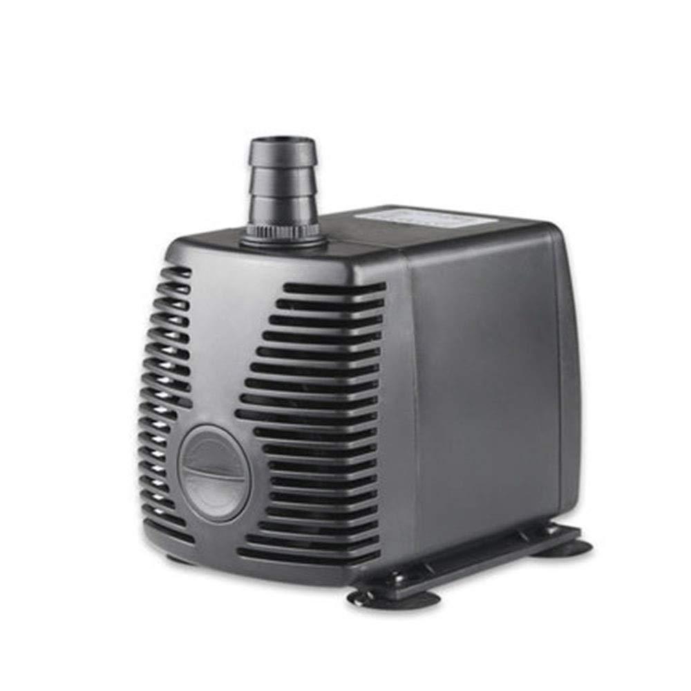 Black 55W Black 55W LIFUREN Fish Tank Oxygen Pump Submersible Pump Pump Aquarium Mini Micro Pump Circulating Filter Pump Silent Filter Pump (color   Black, Size   55W)
