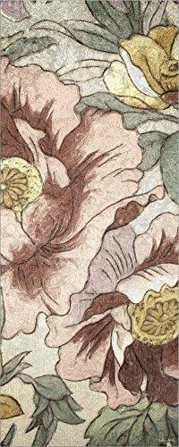 Earthtone Floral Panel - Great Art Now Earthtone Floral Panel I by Catherine Kohnke Laminated Art Print, 11 x 27 inches