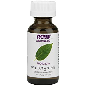 NOW Wintergreen Oil, 1-Ounce (Pack Of 2)